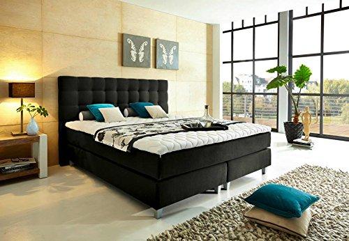 rockstar boxspringbett von welcon tonnentaschenfederkern h3. Black Bedroom Furniture Sets. Home Design Ideas