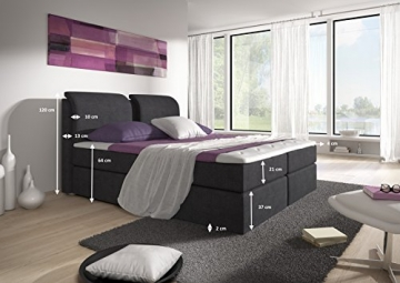 boxspringbett borneo von trendteam 7 zonen taschenfederkern. Black Bedroom Furniture Sets. Home Design Ideas