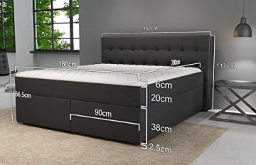 boxspringbett king von betten jumbo 7 zonen. Black Bedroom Furniture Sets. Home Design Ideas