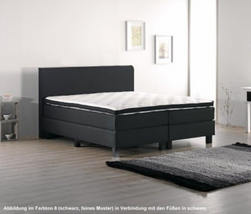 boxspringbett schwarzwald von betten abc mit taschenfederkern. Black Bedroom Furniture Sets. Home Design Ideas